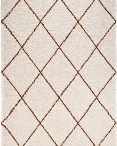 Béžovo-hnědý koberec Mint Rugs Feel, 200 x 290 cm