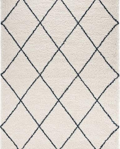 Béžovo-modrý koberec Mint Rugs Feel, 80 x 150 cm