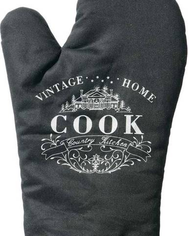 Černá kuchyňská chňapka Premier Housewares Vintage Home