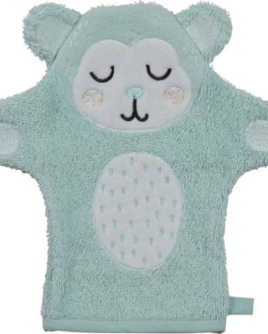 Dětská rukavice na mytí z froté bavlny Södahl Monkey