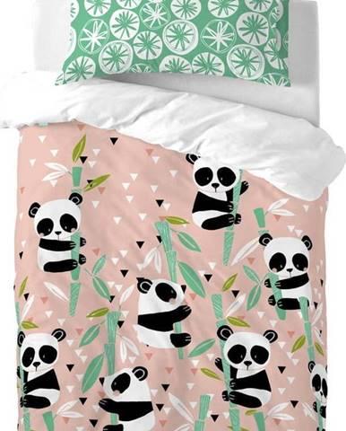 Dětské bavlněné povlečení Moshi Moshi Panda Garden, 115x145cm
