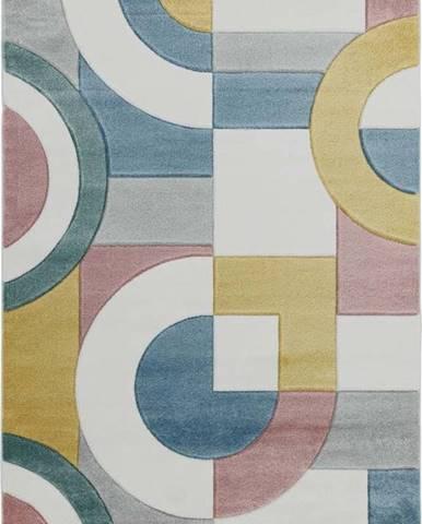 Koberec Asiatic Carpets Retro Multi, 160 x 230 cm