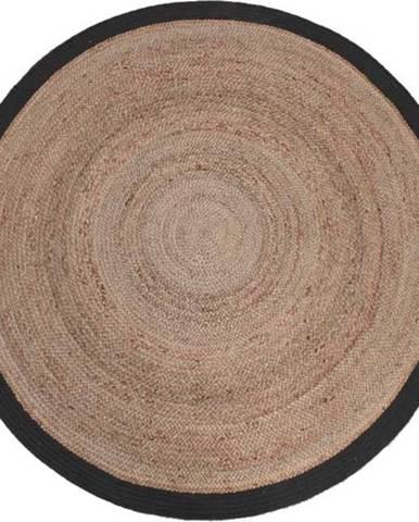 Koberec z konopného vlákna LABEL51 Hemp Rug, ⌀180 cm