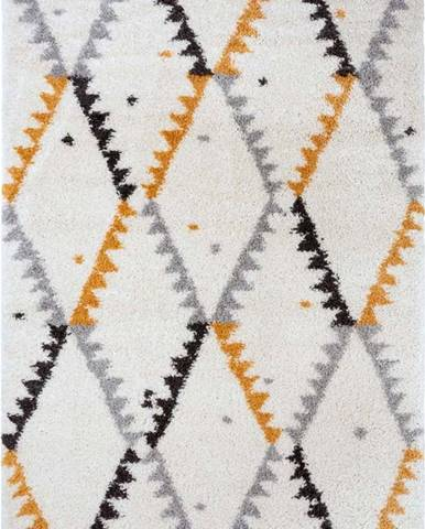 Krémově-oranžový koberec Mint Rugs Lark, 80 x 150 cm
