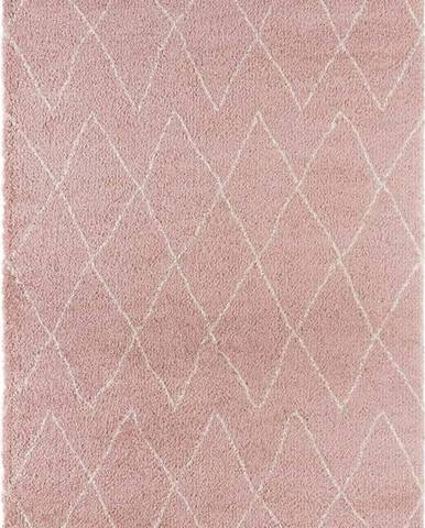 Růžový koberec Mint Rugs Jade, 80x150cm