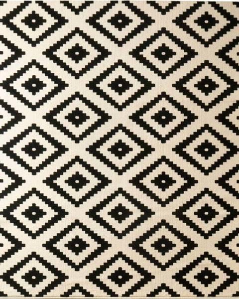 Hanse Home Černý koberec Hanse Home Hamla Diamond Black, 160x230cm