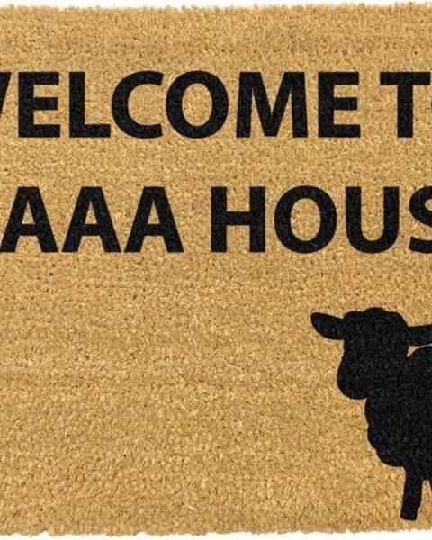 Artsy Doormats Rohožka z přírodního kokosového vlákna Artsy Doormats Welcome to Maaa House,40x60cm