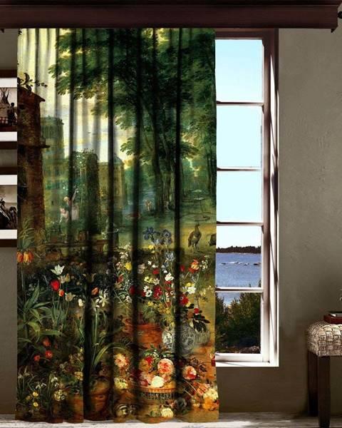 Bonami Závěs Curtain Mertie, 140 x 260 cm