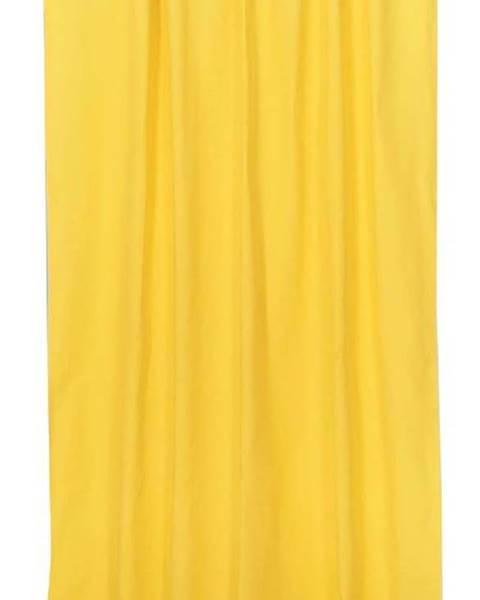 Mike & Co. NEW YORK Žlutý závěs Mike&Co.NEWYORK Simply Yellow, 170 x 270 cm