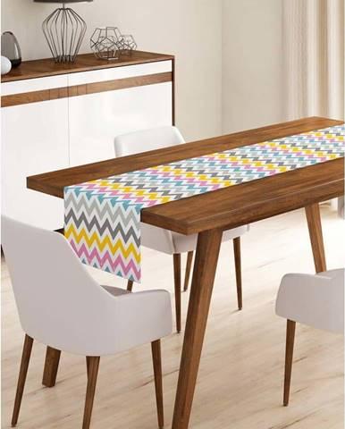 Běhoun na stůl z mikrovlákna Minimalist Cushion Covers Colorful, 45x140cm