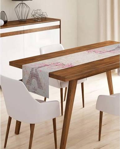 Běhoun na stůl z mikrovlákna Minimalist Cushion Covers Paris, 45x140cm