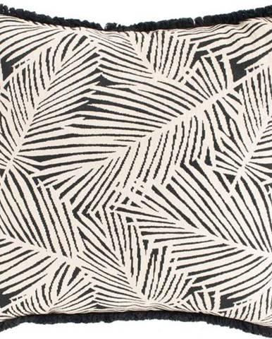 Černo-béžový zahradní polštář Hartman Jungle, 50x50cm