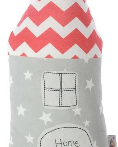 Dětský polštářek s příměsí bavlny Mike&Co.NEWYORK Pillow Toy Farro, 16 x 34 cm