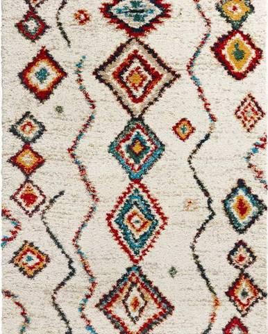 Krémový koberec Mint Rugs Geometric, 200x290cm