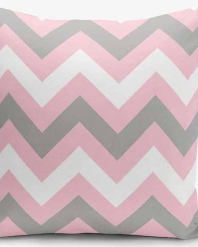 Povlak na polštář Minimalist Cushion Covers Zigzag Colorful, 45x45cm