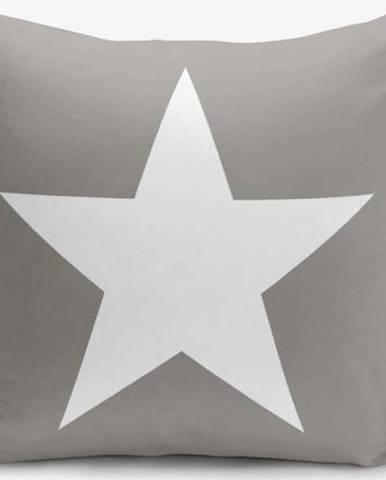 Povlak na polštář s příměsí bavlny Minimalist Cushion Covers Starisomo, 45 x 45 cm