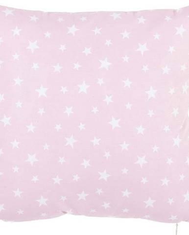 Růžový bavlněný povlak na polštář Mike&Co.NEWYORK Mirro, 35 x 35 cm