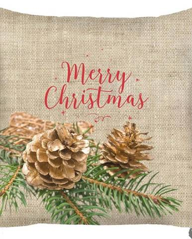 Vánoční povlak na polštář Mike&Co.NEWYORK Honey, 43 x 43 cm