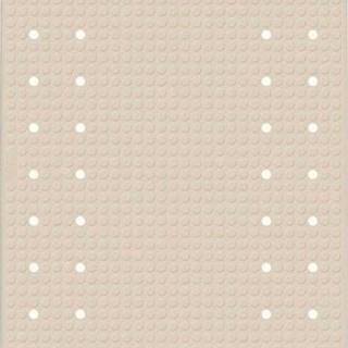 Béžová protiskluzová koupelnová podložka Wenko Mirasol, 69x39cm