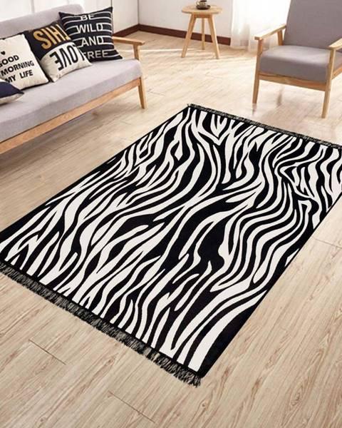 Kate Louise Oboustranný pratelný koberec Kate Louise Doube Sided Rug Zebra, 120 x 180 cm