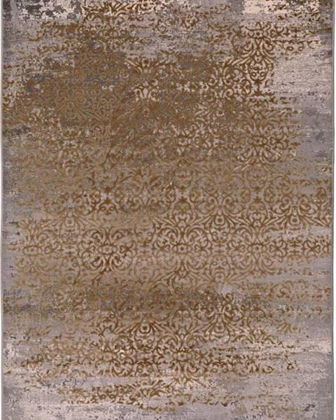Universal Šedo-zlatý koberec Universal Danna Gold, 60 x 120 cm