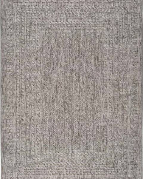 Universal Šedý venkovní koberec Universal Jaipur Berro, 120 x 170 cm