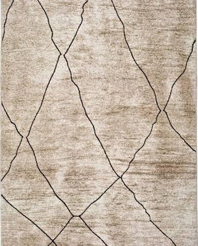Béžový koberec Universal Hydra Beige, 120 x 170 cm