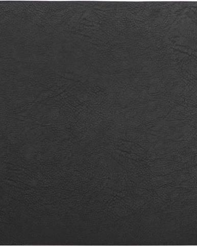 Černé prostírání z imitace kůže ZicZac Troja Rectangle,33x45cm