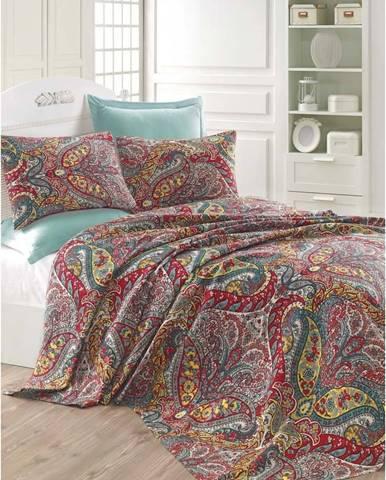 Lehký přehoz přes postel Gemeos Green, 200x235cm