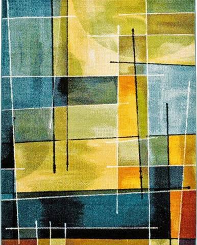 Modro-žlutý koberec Universal Lenny Multi, 120x170cm