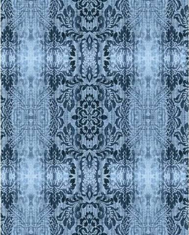 Petrolejový koberec Vitaus Becky,120x180cm
