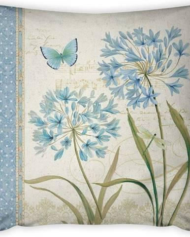 Povlak na polštář Vitaus Russado Azul Uno, 43 x 43 cm