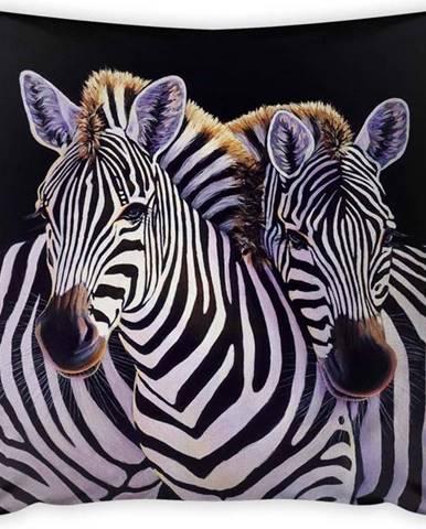 Povlak na polštář Vitaus Zebra, 43 x 43 cm