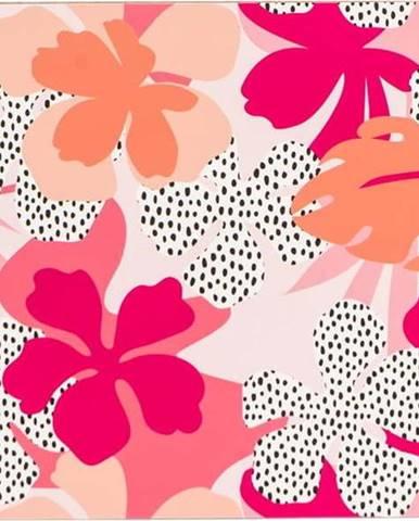 Růžovo-oranžové prostírání Navigate Floral