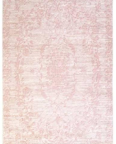 Růžový koberec Vitaus Hali Gobekli, 50x80cm