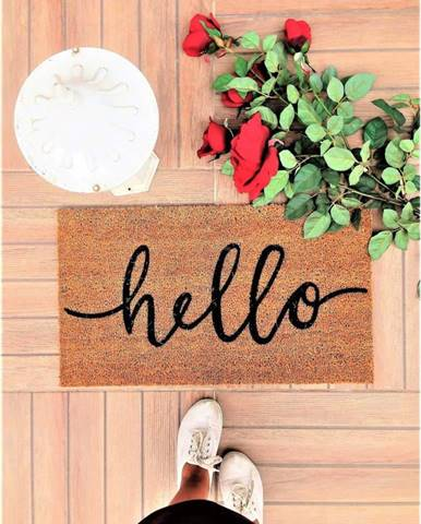 Rohožka Doormat Hello, 70 x 40 cm