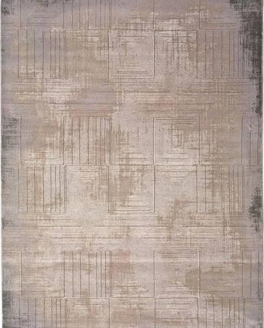 Šedo-béžový koberec Universal Seti, 60 x 120 cm