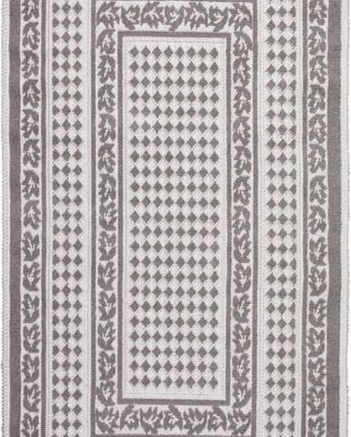 Šedobéžový bavlněný koberec Vitaus Olvia, 100x150cm
