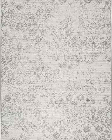Šedobéžový venkovní koberec Universal Weave Kalimo, 77 x 150 cm