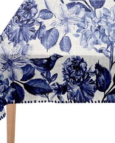 Ubrus Linen Couture Blue Birds, 140 x 200 cm