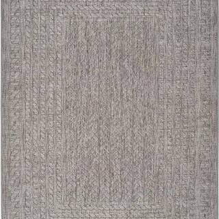 Šedý venkovní koberec Universal Jaipur Berro, 120 x 170 cm