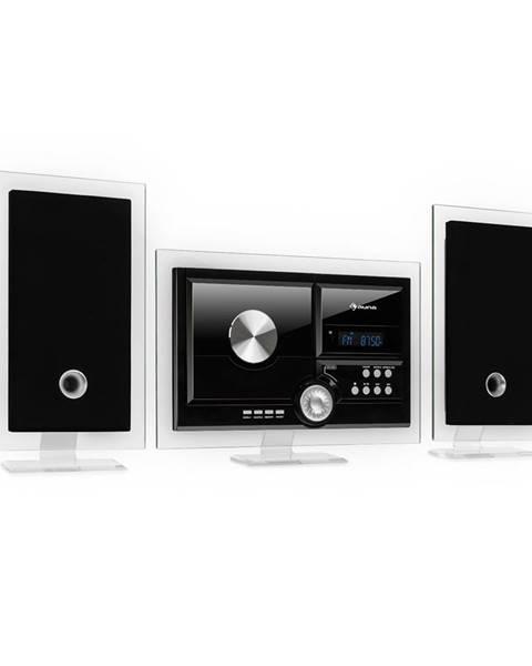 Auna Auna Stereo Sonic, DAB+ stereo systém, DAB+, CD přehrávač, USB, BT, černý