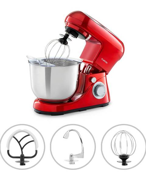 Klarstein Klarstein Bella Pico 2G, kuchyňský robot, 1200 W, 1,6 HP, 6 stupňů, 5 litrů, červený