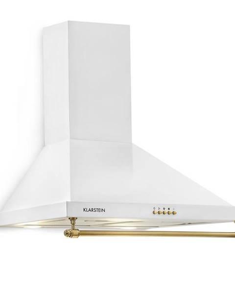 Klarstein Klarstein Montblanc, odsavač par, 610 m³ / h, 165W, 2x1,5W LED, závěsná tyč, bílá barva