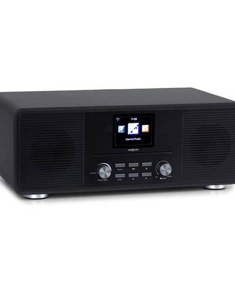 OneConcept OneConcept Streamo CD, internetové rádio, 2 x 10 W, WLAN, DAB+, FM, CD přehrávač, BT, černé