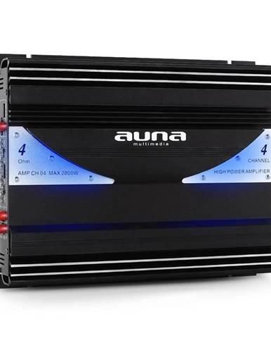 4-kanálový auto zesilovač Auna AMP-CH04 2800W