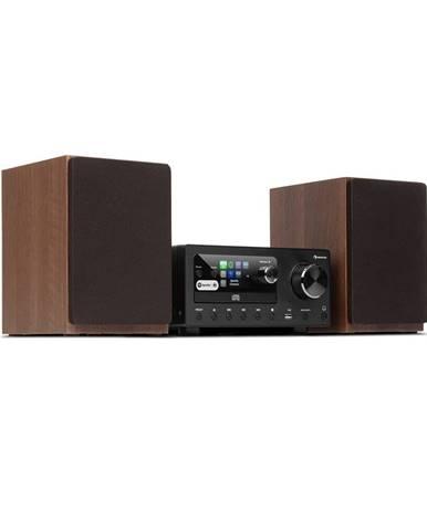 Auna Connect System, stereo systém, max. 80 W, internetové / DAB + / FM rádio, CD přehrávač