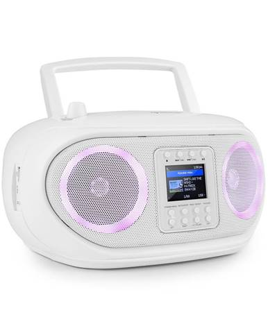 Auna Roadie Smart, boombox, internetové rádio, DAB/DAB+, FM, CD přehrávač, LED, WiFi, bluetooth