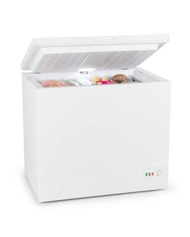 Klarstein Iceblokk Eco, mrazící box, A +++, 200 l, 2 závěsné koše, kolečka, bílý