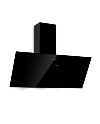 Klarstein Lauer 90, odsavač par, 90 cm, odsávání 350 m³/h, LED, dotykový, černý